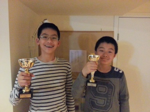 March-April Co-Champions: Kayton and Patrick