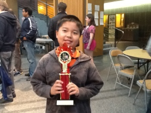 Champion of OYCC Under 10 - Daniel Liu