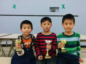 January 2015 Champions: Section A - Daniel Y, Section B - Jeffrey Z, Section C - Kevin Y.
