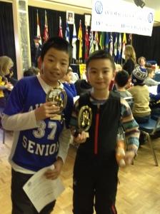 Michael Chen and Blair Xing