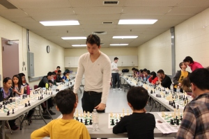 GM Eric Hansen in the simul.