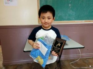 CFC Grand Prix U10 Champion, 2013-2014 – Jonathan Zhao