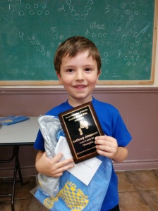 CFC Grand Prix U8 Champion, 2013-2014 – Anthony Atanasov
