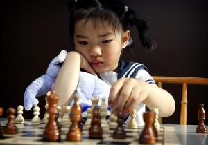 Quiy Zhou viisivuotiaana vuonna 2005. Heikki Sarviaho