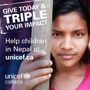 Photo from UNICEF Canada