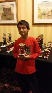 Adrian D'Souza, Grade 5 top 10