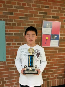 Benjamin Lin, Grade 5 2nd place of the OCC 2015.