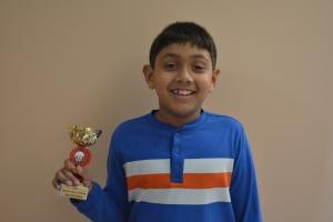 Kousihan Balachandran Grade 2 top 10 OCC 2015