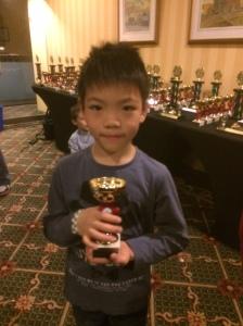 Angus Zhang, Grade 1 top 10 OCC 2015