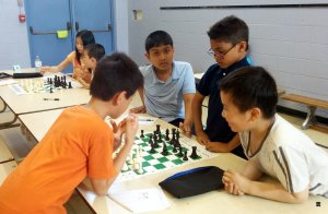 This groups of all second grader played very well. It took to long that the game was not finished. With given time, the grandmaster said they had the chance to win. So they were also awarded as winners.