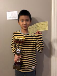 Bradley Tseng, U10